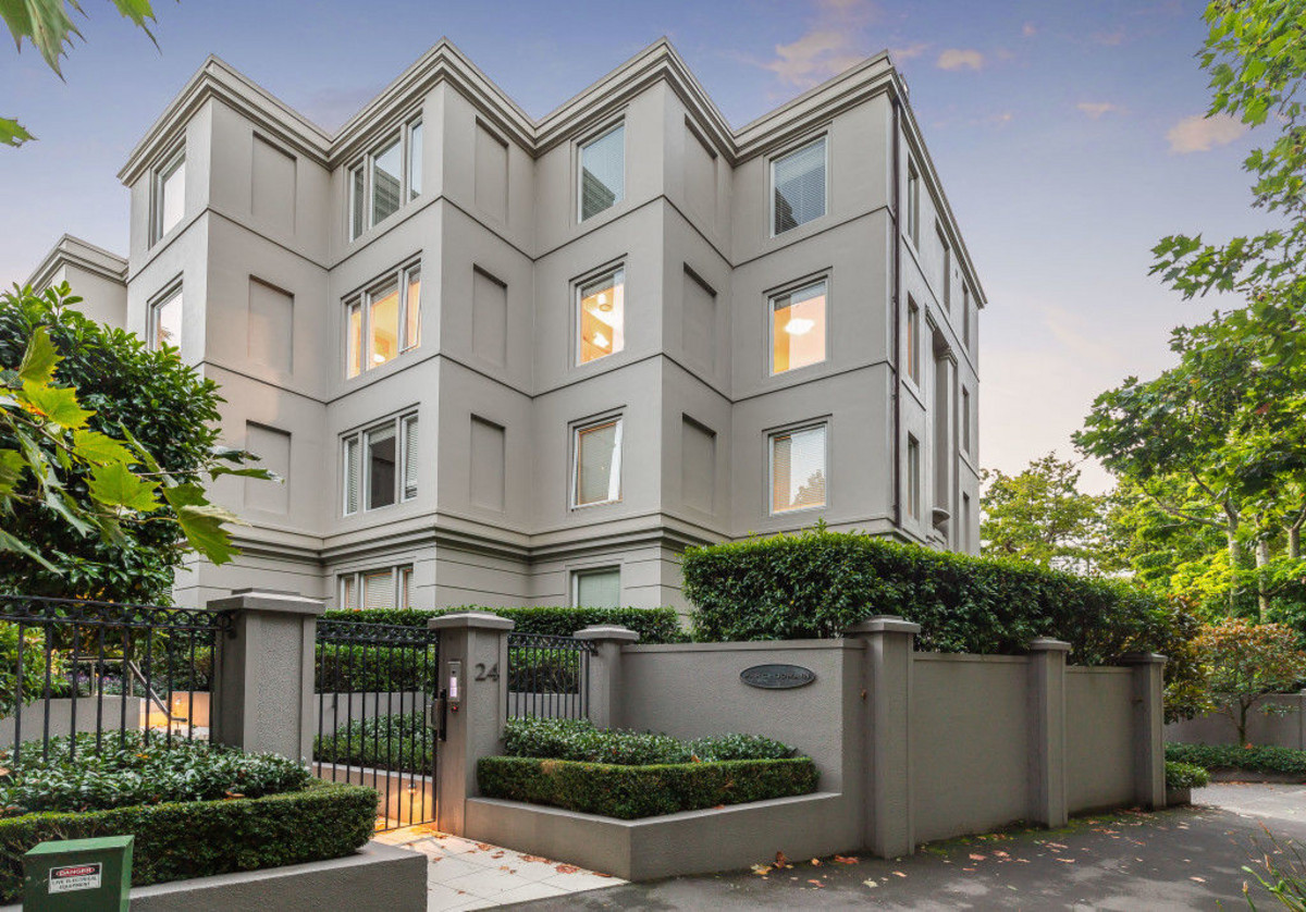 Exclusive Parkside Living on Auckland Domain